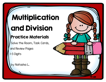 Multiplication and Division Review Activities