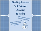 Multiplication and Division Riddles