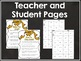 Multiplication and Division Scoot Game:  Groundhog Themed