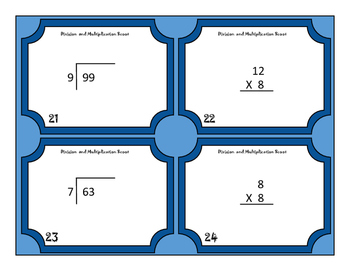 Common Core Multiplication and Division!