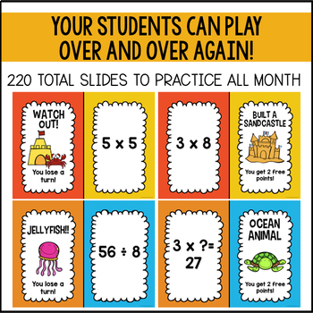 Multiplication and Division: Shout It Out (Summer Edition Bundle)
