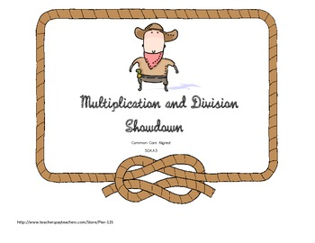 Multiplication and Division Showdown