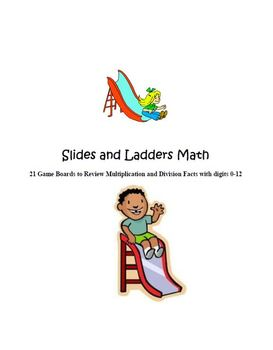 Multiplication and Division Slides and Ladders