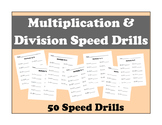 Multiplication and Division Speed Drills