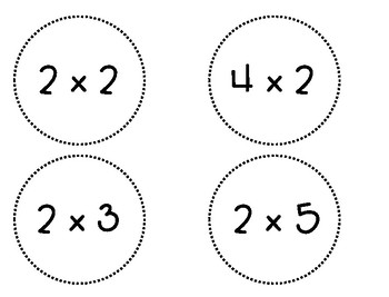 Multiplication and Division Stick Flash Cards
