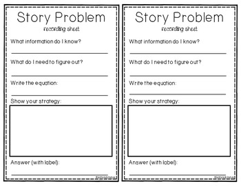 Multiplication and Division Story Problem Task Cards