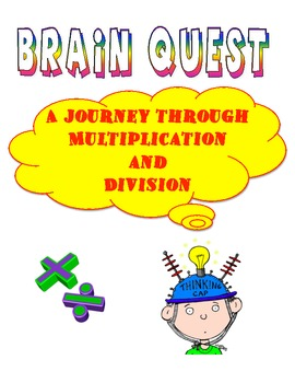 Multiplication and Division Story Problems (Brain Quest Packet) (7)