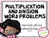 Multiplication and Division Story Problems {Common Core Aligned}