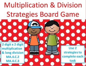 Multiplication and Division Game: Using Two Strategies Test Prep