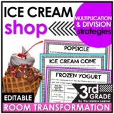Multiplication and Division Strategies | Ice Cream Classroom Transformation