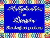 Multiplication and Division Strategies Posters
