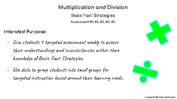 Multiplication and Division Strategies - (Quickly Assess, Analyze, Group)