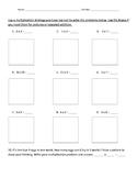 Multiplication and Division Strategies Quiz