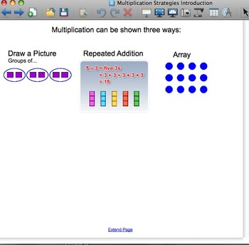 Multiplication and Division Strategies SMARTboard Notebooks