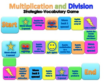 Multiplication and Division Strategy Game