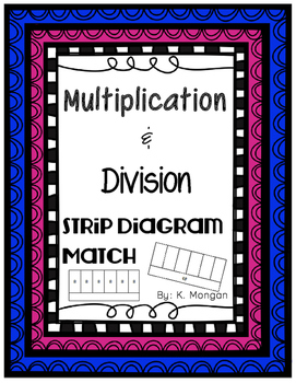 Multiplication and Division Strip Diagram Match