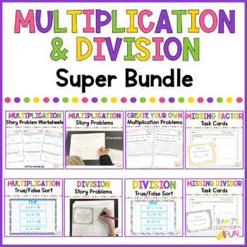 Multiplication and Division Super BUNDLE