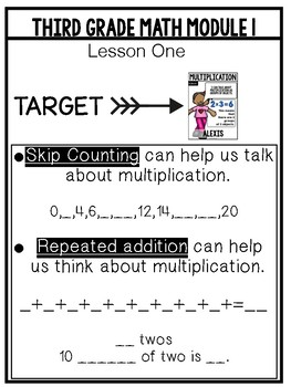 Multiplication and Division Supplements