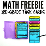Multiplication and Division Task Card Freebie