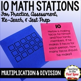 Multiplication and Division Stations