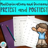 Multiplication and Division Tests