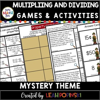 Multiplication and Division Third Grade Common Core Games