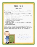 Basic Facts - Timed Tests