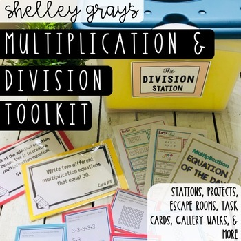 Multiplication and Division Tool Kit: Basic Multiplication and Division Facts