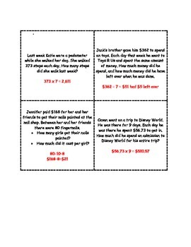 Multiplication and Division Treasure Quest