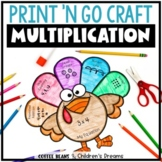 Multiplication and Division Turkey Craft