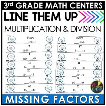 Multiplication and Division Unknown Factors January Math Center