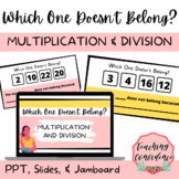 Multiplication and Division - Which One Doesn't Belong? -