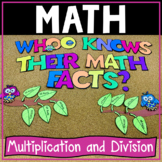 Multiplication! and Division! Fluency Facts