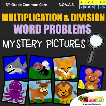 Multiplication and Division Word Problems - 3rd Grade Myst