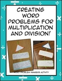 Multiplication and Division Word Problem Activity