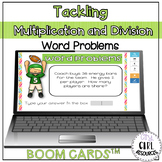 Multiplication and Division Word Problem Boom Cards