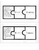 Multiplication and Division Word Problem Puzzles