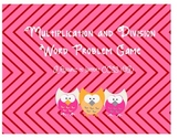 Multiplication and Division Word Problem Review Game