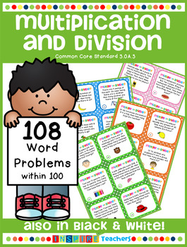 108 Multiplication and Division Word Problems
