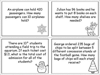 Multiplication and Division Word Problems - Choose the Correct Operation!