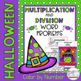 Multiplication and Division Word Problems | Color by Numbe