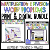 Multiplication and Division Word Problems DIGITAL and PRIN