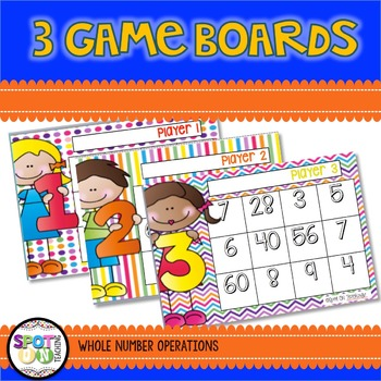 Multiplication and Division Word Problems {Math Workstation}
