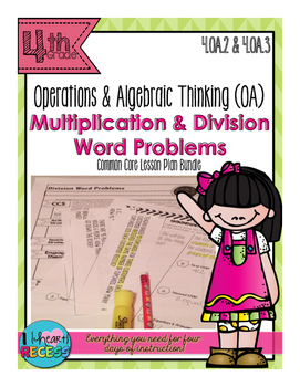 Multiplication and Division Word Problems (OA.2 & OA.3)