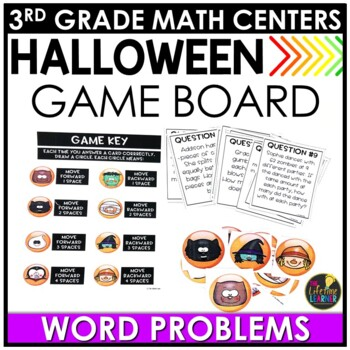 Multiplication and Division Word Problems October Math Center