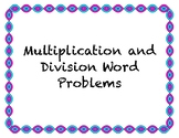 Multiplication and Division Word Problems Rally Coach