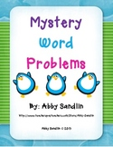 Multiplication and Division Word Problems - Writing Mystery Word Problems Game!