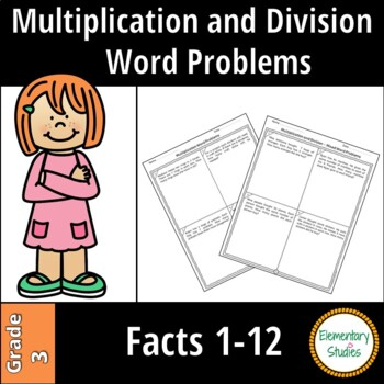 Multiplication and Division Word Problems | Distance Learning
