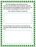 Multiplication and Division Word Problems for the Holidays