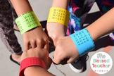Multiplication and Division Wrist Bands {BUNDLED}